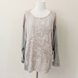 Tiny Anthropologie Size Large Embroidered Top